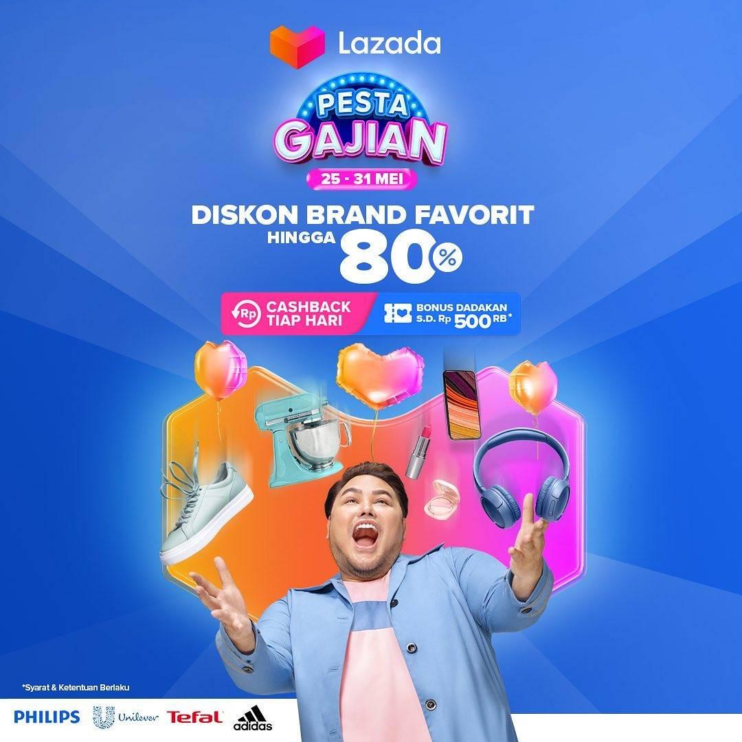 Diskon Lazada Diskon Brand Favorit Hingga 80%