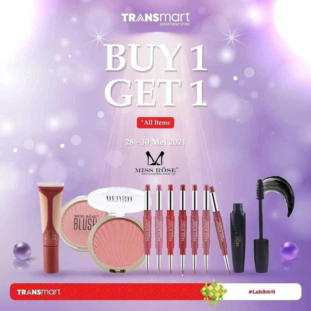 Promo diskon Transmart Carrefour Beauty Deals Diskon Hingga 40% + Extra 10%