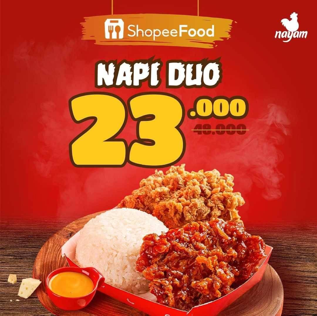 Diskon Nayam Promo Napi Duo Hanya Rp. 23Ribuan
