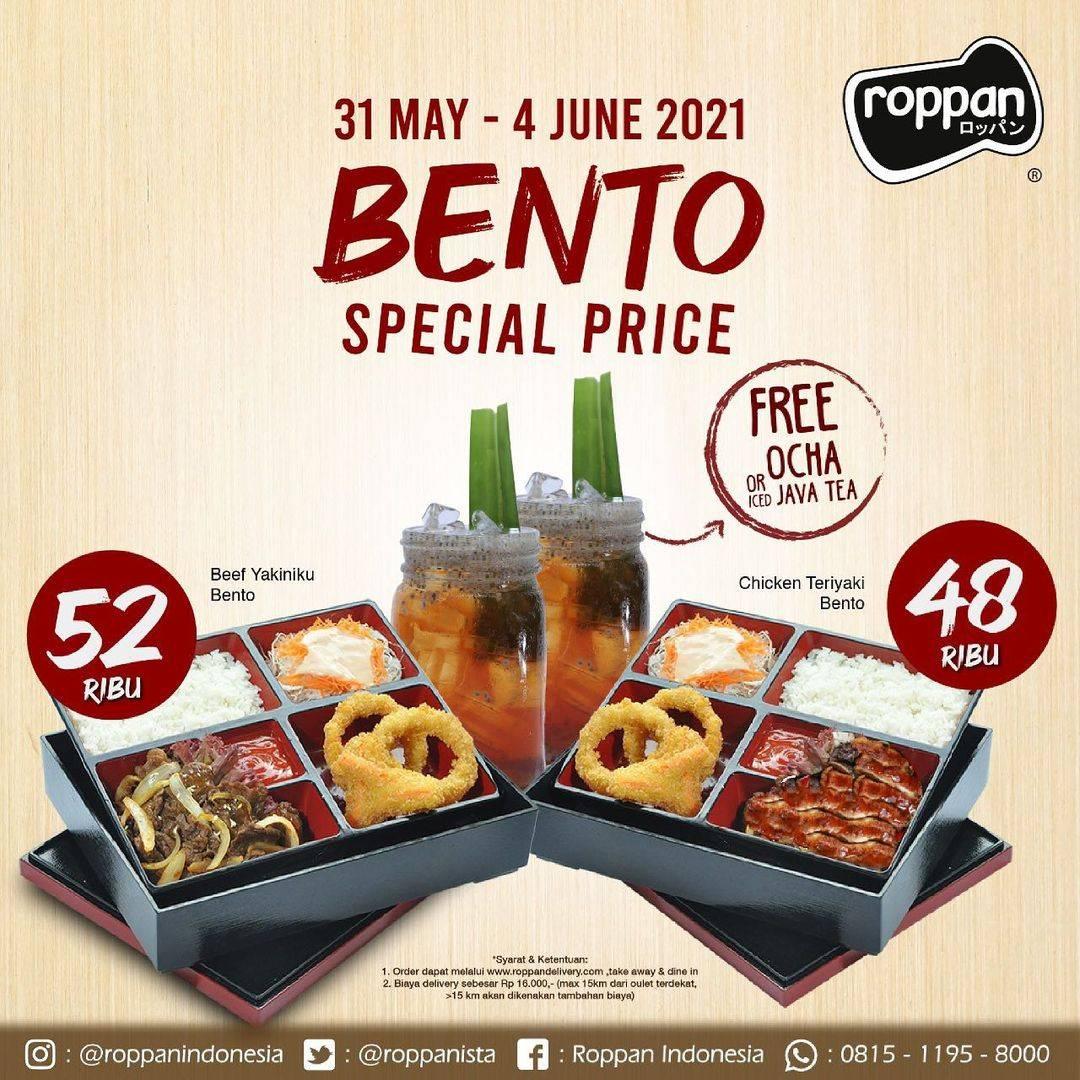 Diskon Roppan Promo Bento Special Price Start From Rp. 48.000