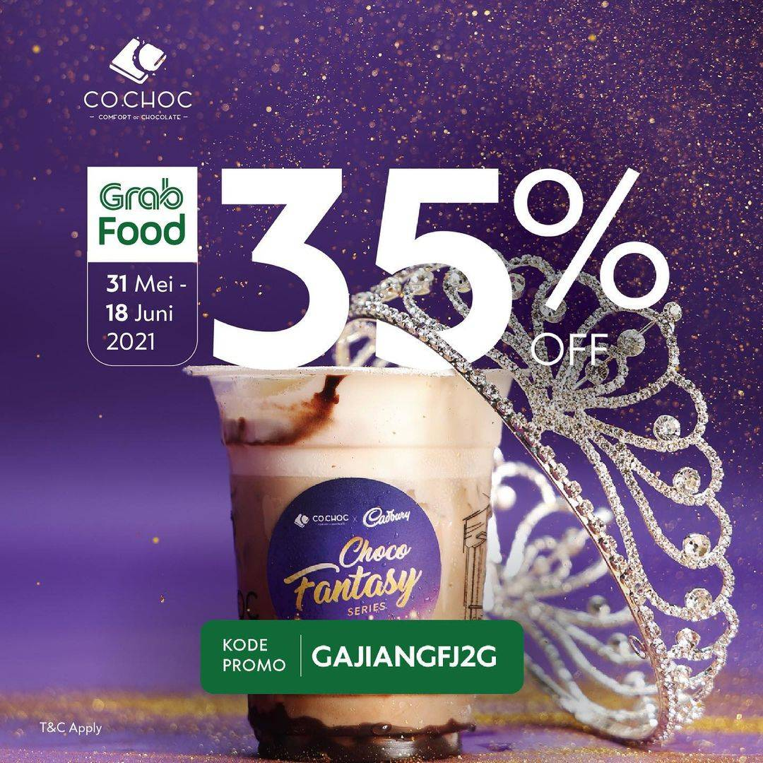 Diskon Co Choc Discount 35% Off On GrabFood