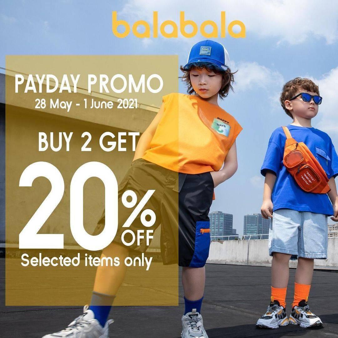 Diskon Kidz Station Payday Promo Buy 2 Get 20% Off On Balabala Products