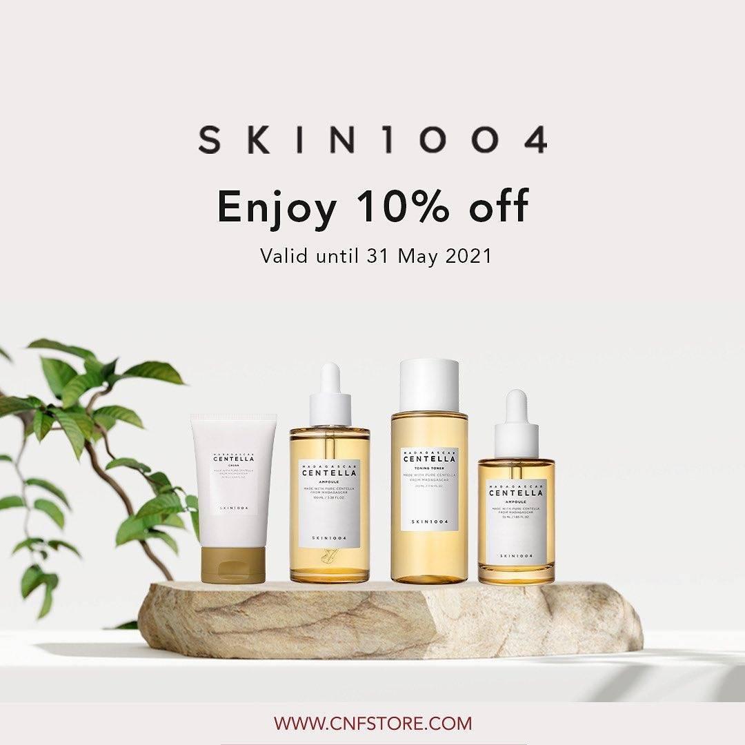 Diskon C&F Parfumery Enjoy Discount 10% Off On Skin 1004 Products
