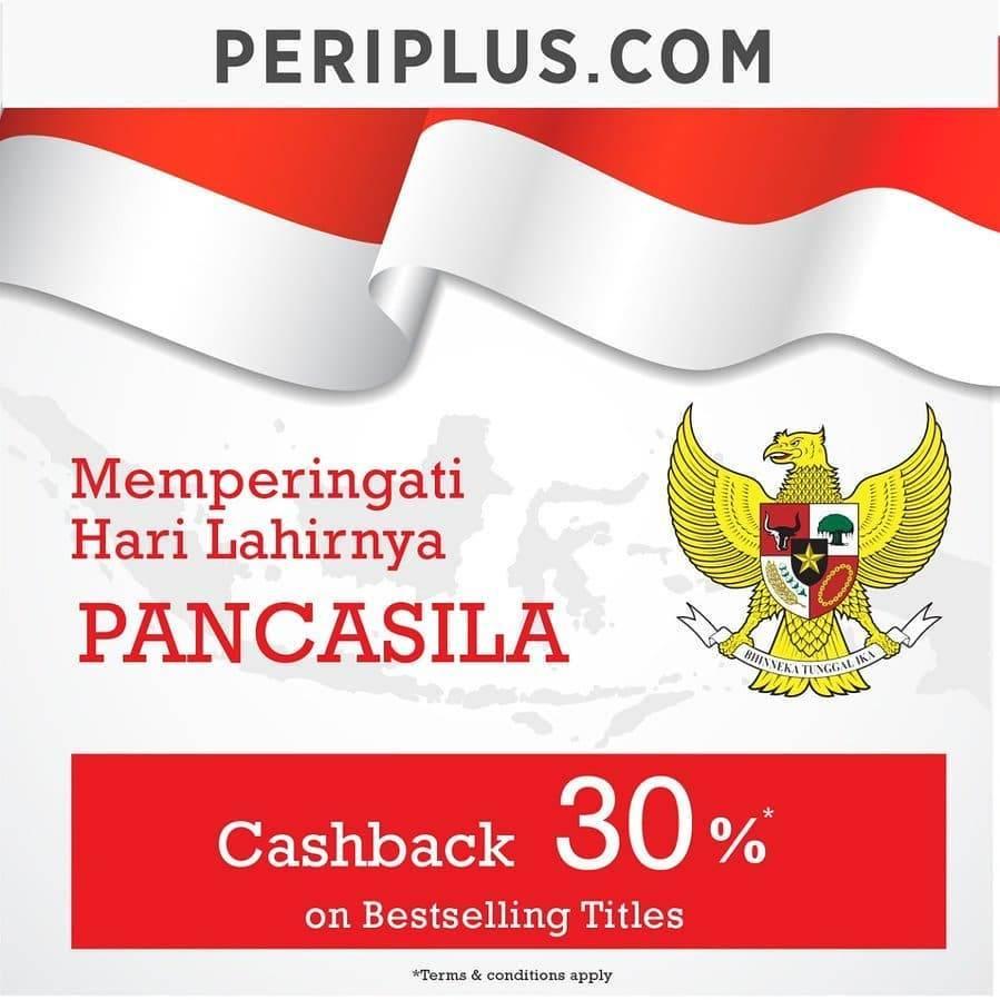 Diskon Promo Periplus Cashback 30% Setiap Pembelian Buku Bestselling Titles