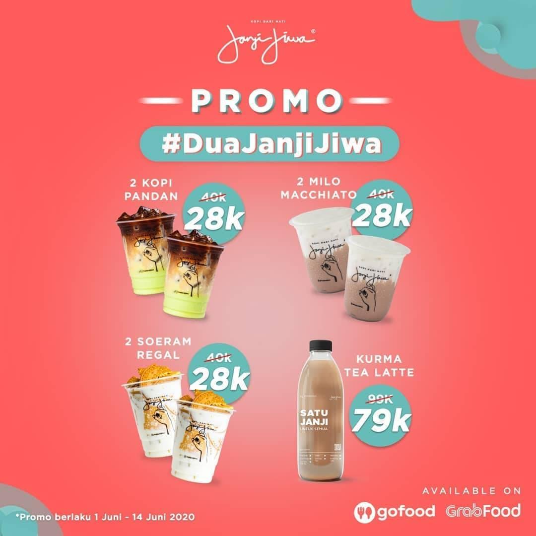 Diskon Promo Kopi Janji Jiwa Paket Dua Janji Jiwa Dengan Harga Mulai Dari Rp. 28.000