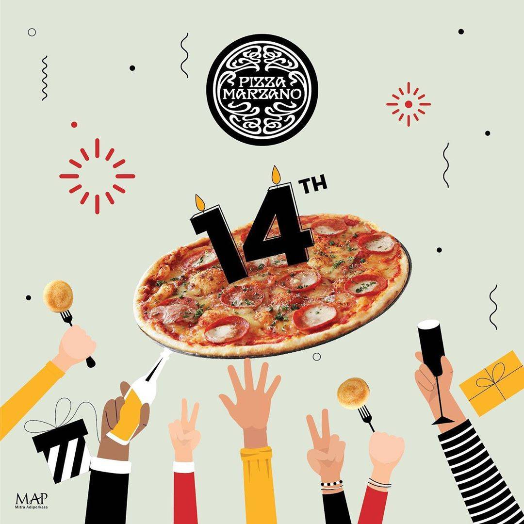 Diskon Promo Pizza Marzano Discount 50% Off On 14 Selected Products