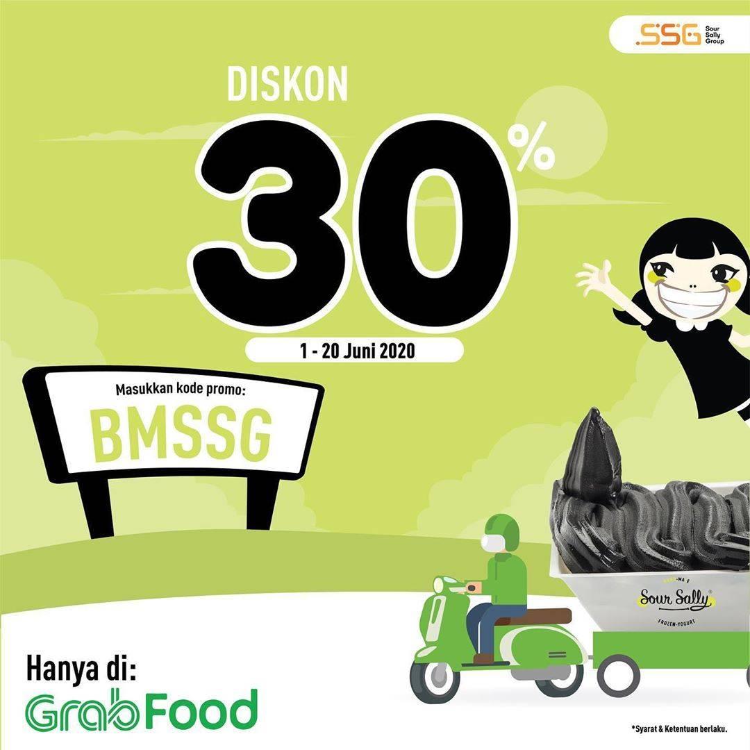 Diskon Promo Sour Sally Diskon 30% Untuk Pemesanan Menu Melalui GrabFood