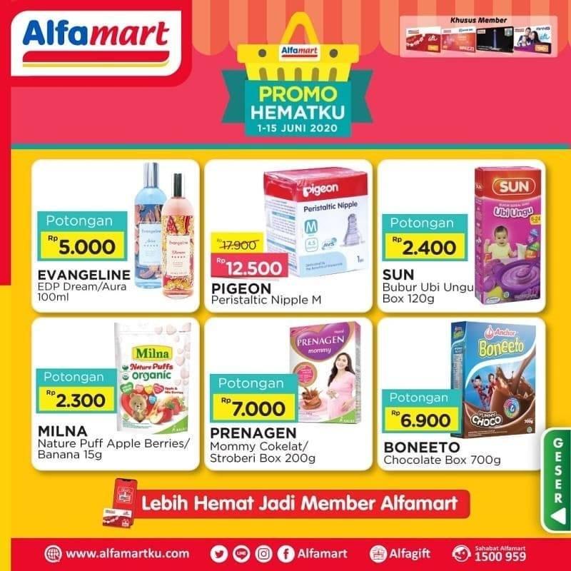 Diskon Katalog Promo Alfamart Promo Hematku Periode 1 - 15 Juni 2020