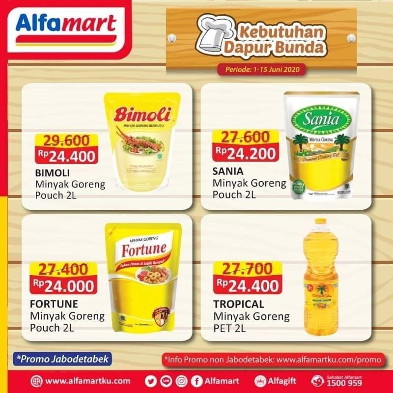 Diskon Katalog Promo Alfamart Promo Kebutuhan Dapur Bunda Periode 1 - 15 Juni 2020