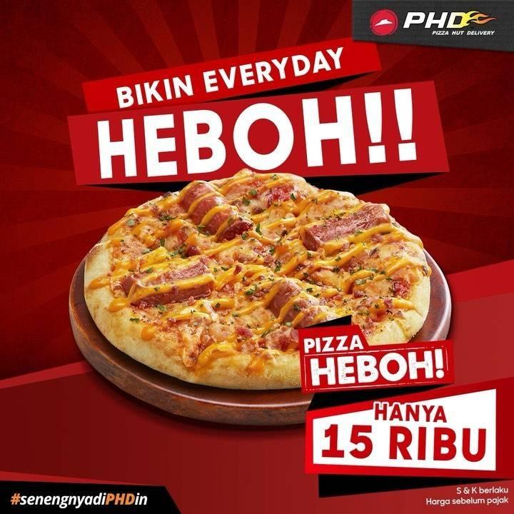 Diskon Promo PHD Pizza Heboh Hanya Rp. 15.000