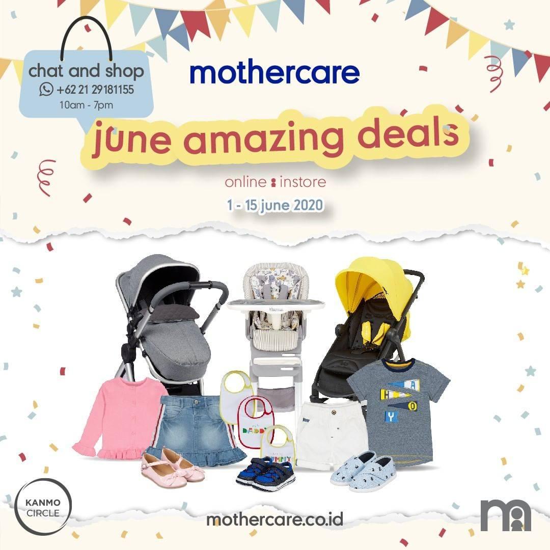 Diskon Promo Mothercare Diskon Hingga 30% Untuk Item Favorit