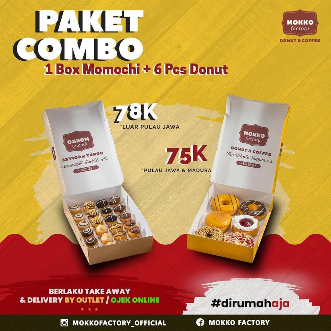 Diskon Promo Mokko Factory Paket Combo Dengan Harga Mulai Dari Rp. 75.000