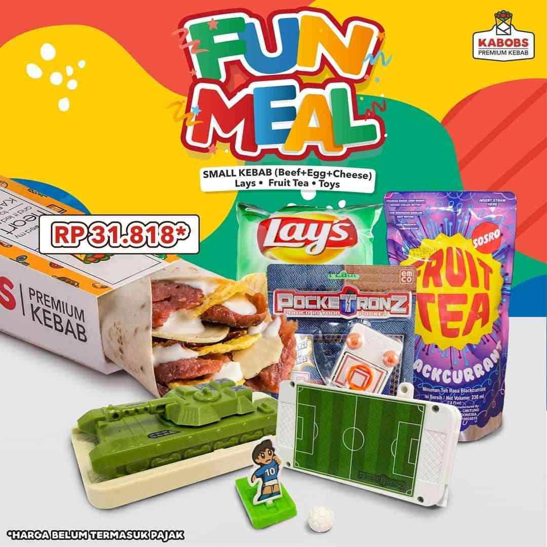 Diskon Promo Kabobs Harga Spesial Paket Fun Meal Hanya Rp. 31.818
