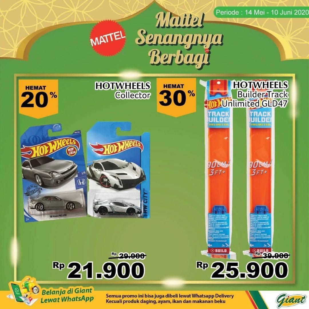 Diskon Katalog Promo Giant Mattel Senangnya Berbagi Periode 14 mei - 10 juni 2020