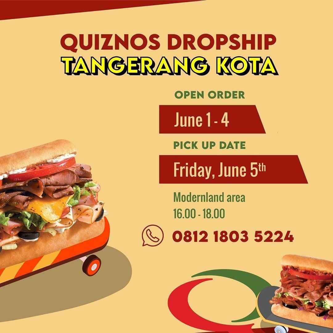 Promo diskon Promo Quiznos Buy 2 Any Sandwiches Get Free Pizza