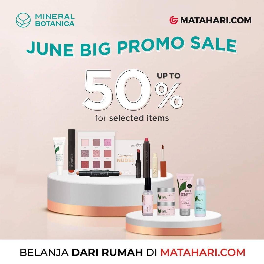 Diskon Promo Matahari.com Diskon Hingga 50% Untuk Berbagai Produk Mineral Botanica Favorit