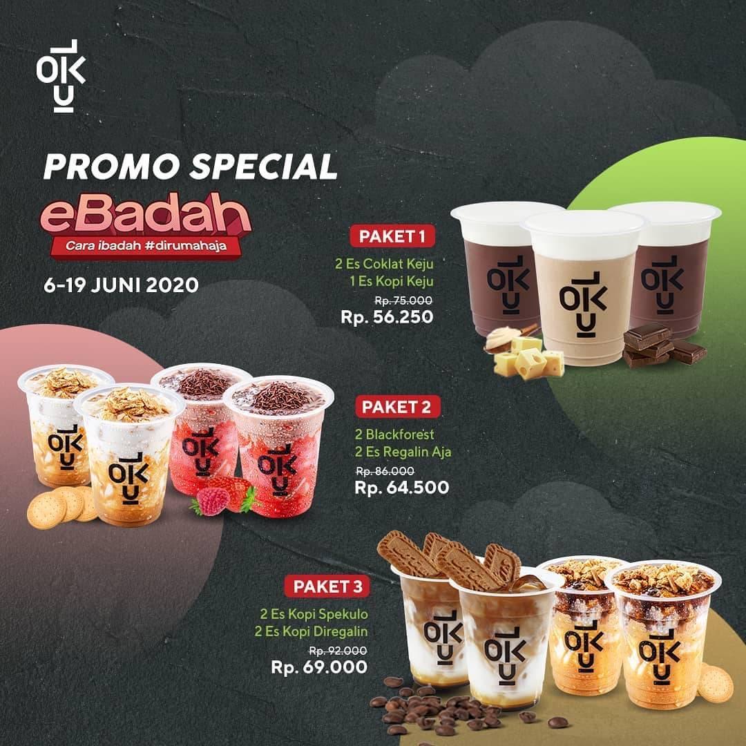 Diskon Promo Kedai Kopi Kulo Diskon 25% Untuk Pemesanan Paket Ebadah Melalui GoFood