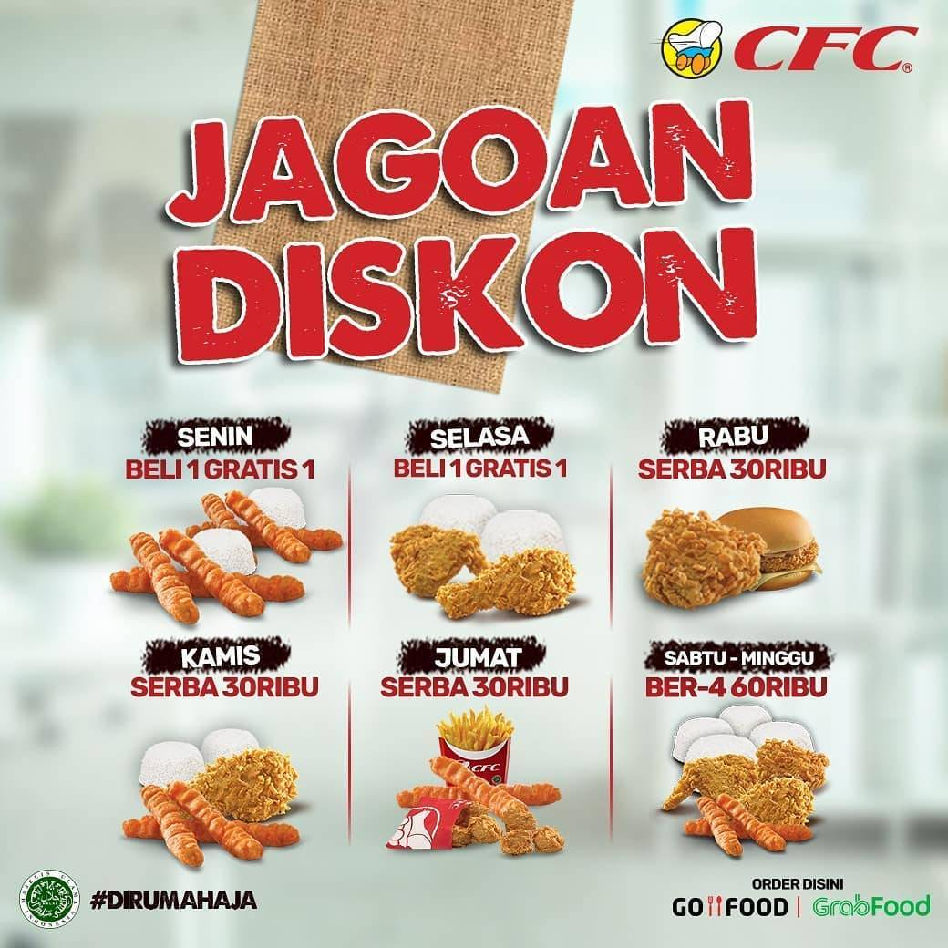 Diskon Promo CFC Paket Jagoan Diskon