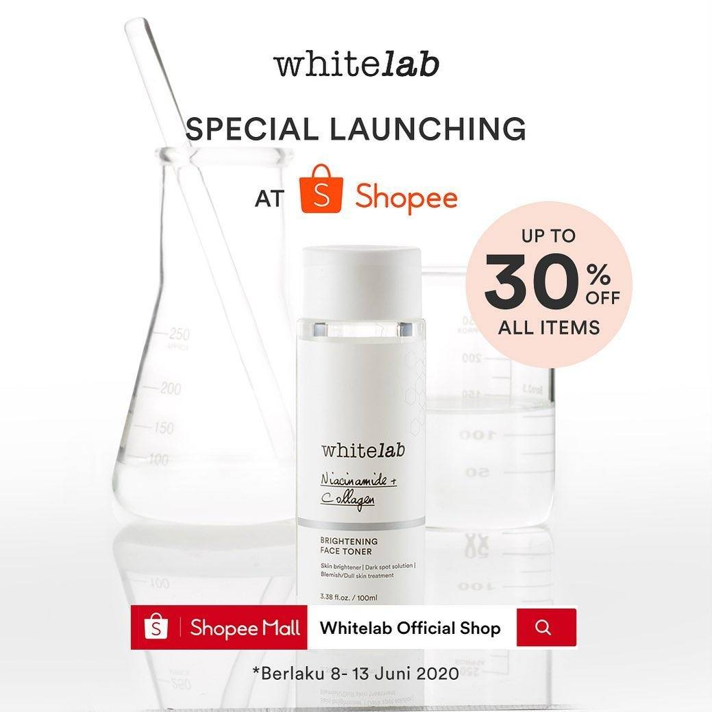 Diskon Promo Exclusive Launching Whitelab Get Discount Up To 30% Off At Shopee