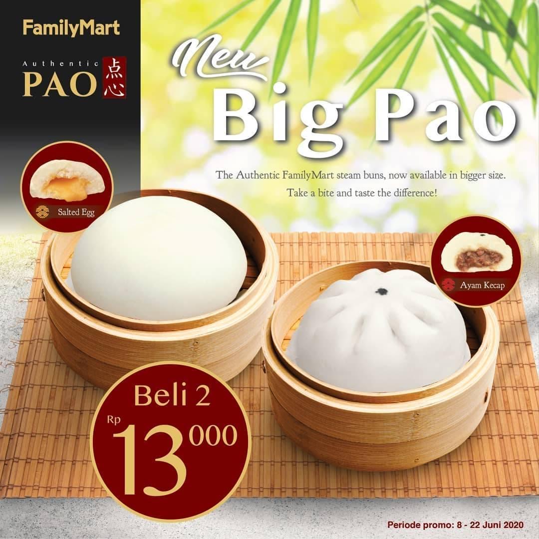 Diskon Promo Family Mart Harga Spesial 2 Big Pao Hanya Rp. 13.000
