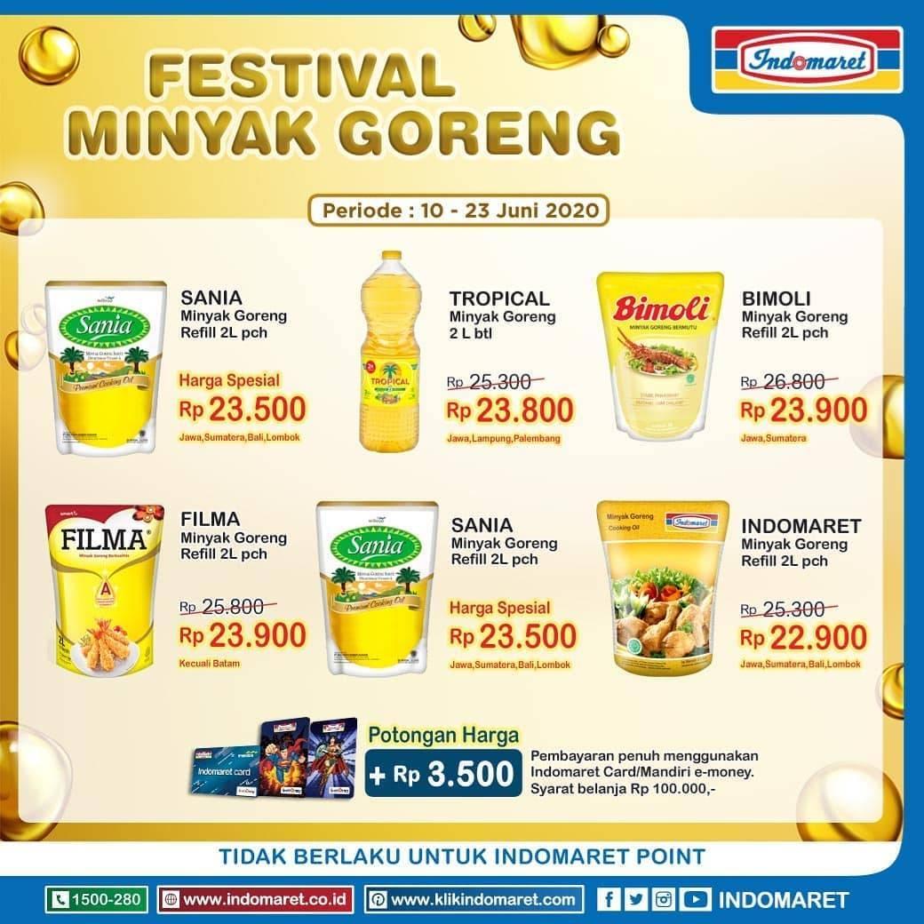 Diskon Katalog Promo Indomaret Festival Minyak Goreng Periode