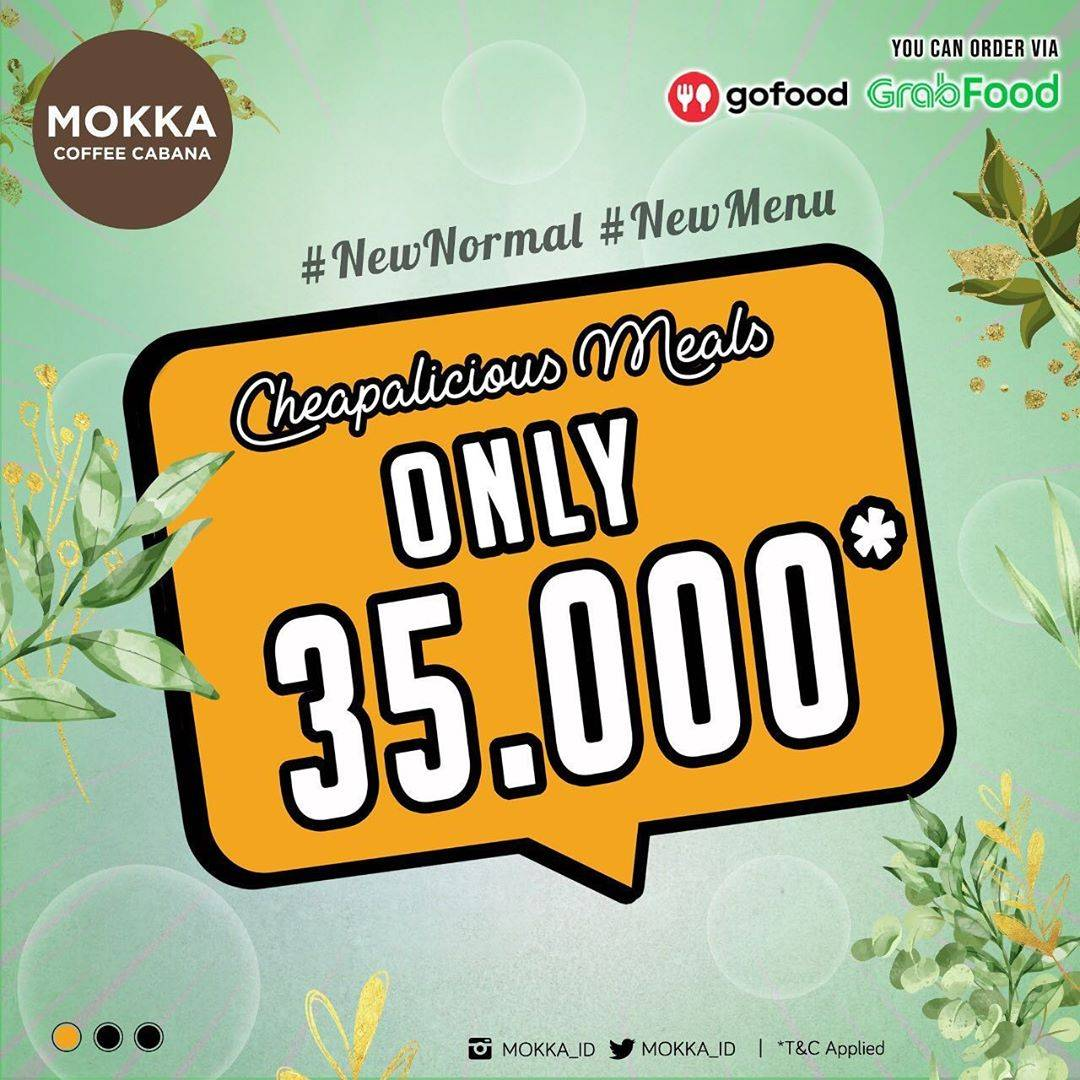 Diskon Promo Mokka Coffee Cabana Cheapalicious Meals Only For Rp. 35.000