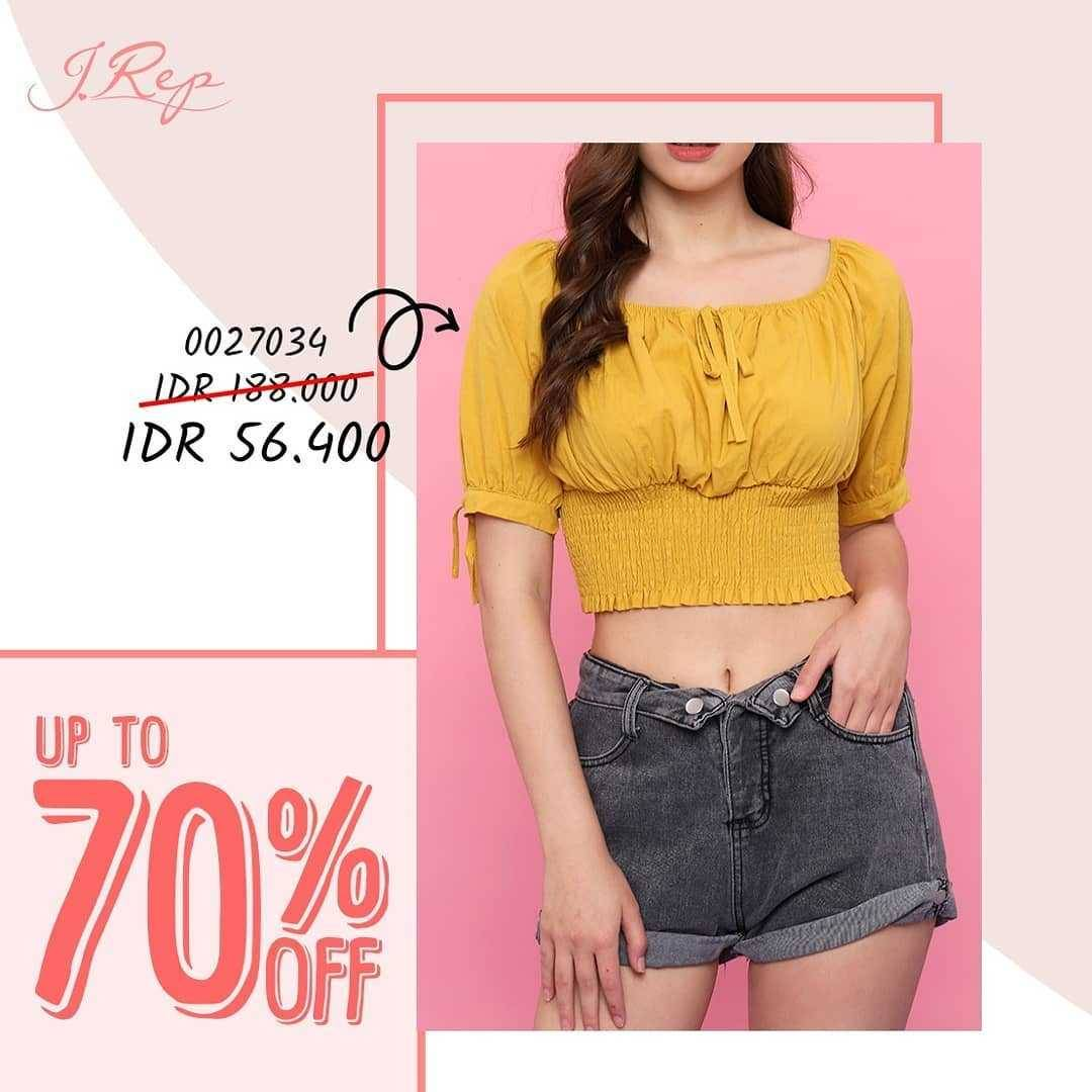 Promo diskon Promo J.Rep Discount Up To 70% Off