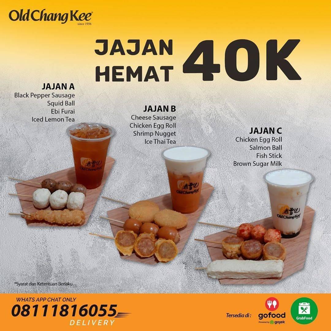 Diskon Promo Old Chang Kee Paket Jajan Hemat Hanya Rp. 40.000
