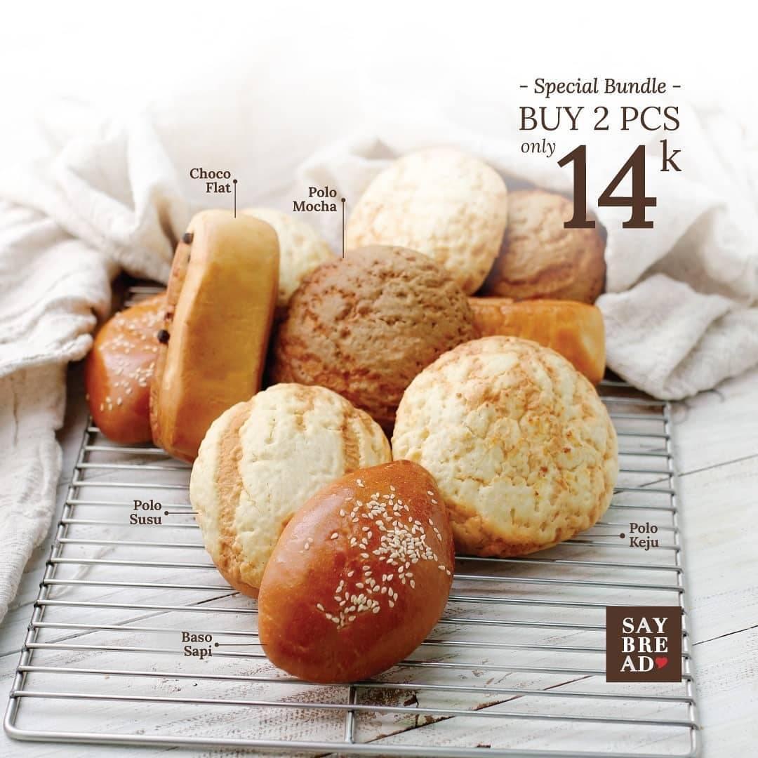 Diskon Promo Indomaret Special Bundle Saybread Beli 2 Roti Hanya Rp. 14.000