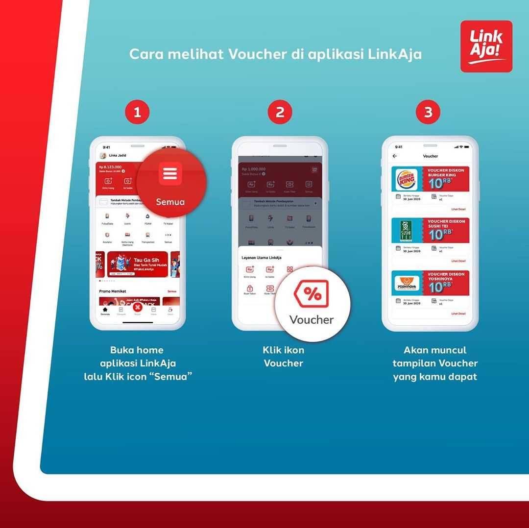 Promo diskon Promo Link Aja Voucher Diskon Rp. 10.000 Untuk Pembelanjaan Di Merchant Pilihan