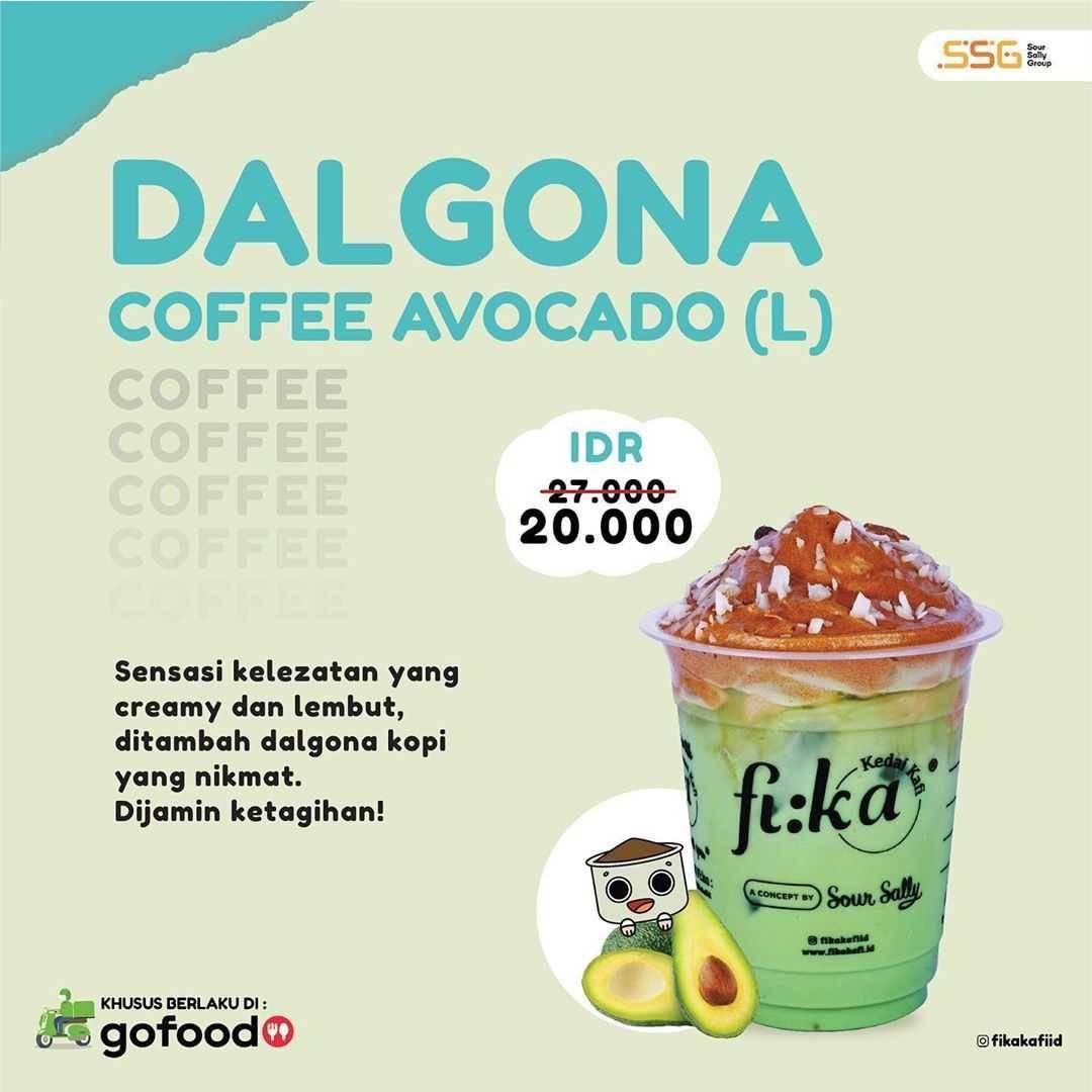 Promo diskon Promo Fika Kafi Diskon 25% Untuk Pemesanan Dalgona Series Melalui GoFood