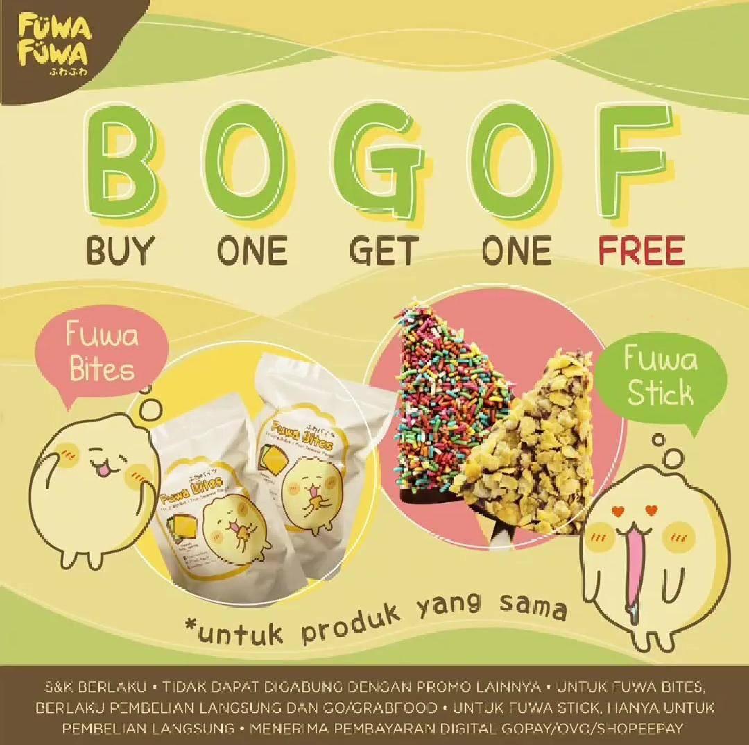 Diskon Promo Fuwa Fuwa Buy 1 Get 1 Free Fuwa Bites & Fuwa Stick
