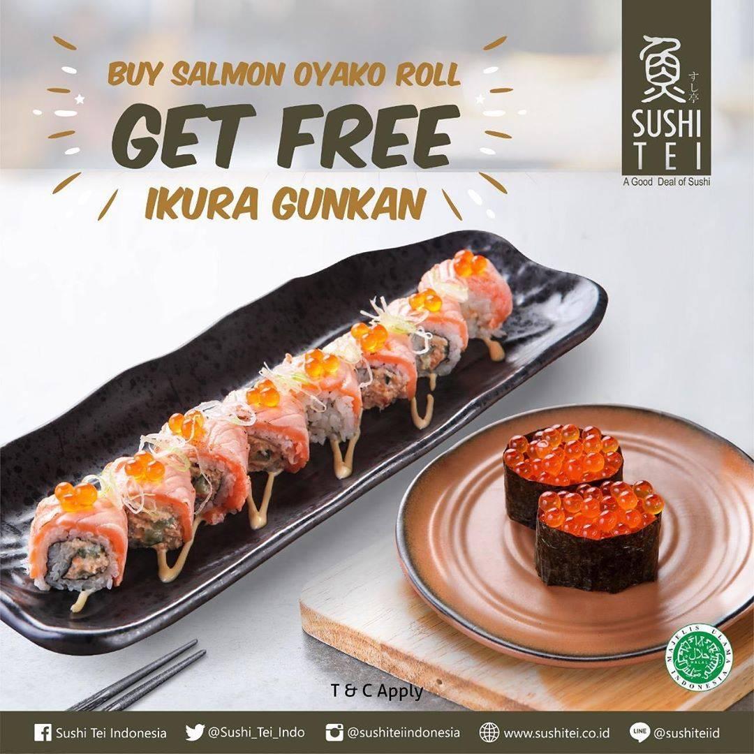 Diskon Promo Sushi Tei Buy 1 Get 1 Free Selected Item