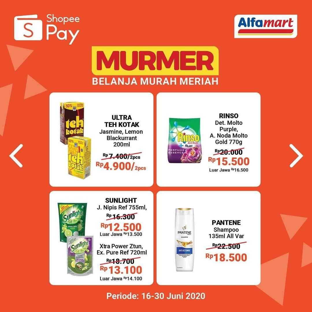 Promo Alfamart Belanja Murah Meriah Untuk Transaksi Menggunakan Shopeepay Disqonin
