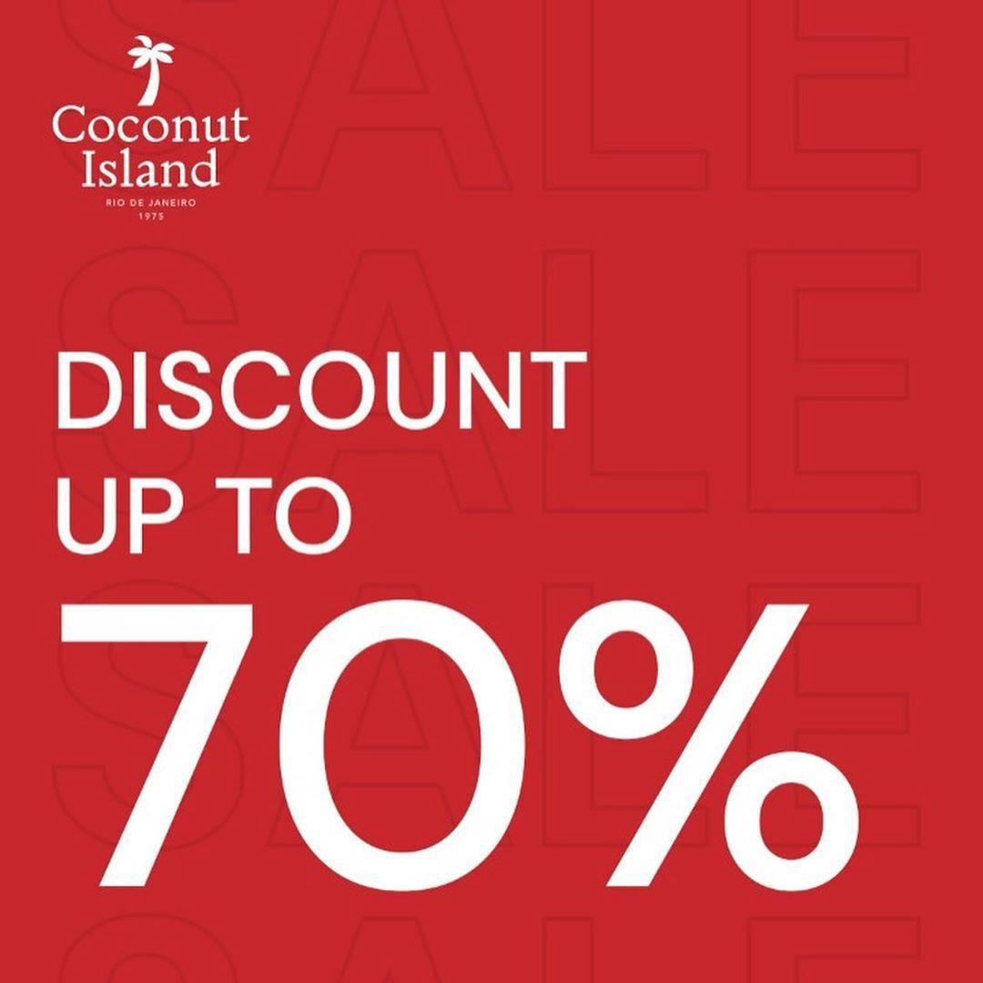 Diskon Promo Coconut Island Diskon Hingga 70% Untuk Pakaian Favorit