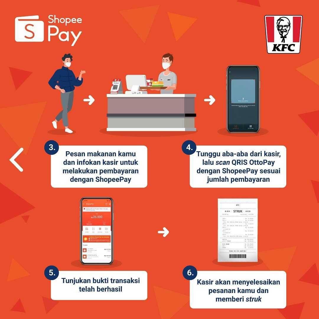 Promo diskon Promo KFC Cashback 30% Untuk Transaksi Menggunakan ShopeePay