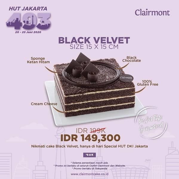 Diskon Promo Clairmont Black Velvet & Bundling Dry Cake