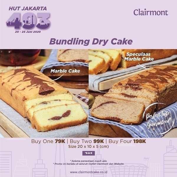 Promo diskon Promo Clairmont Black Velvet & Bundling Dry Cake
