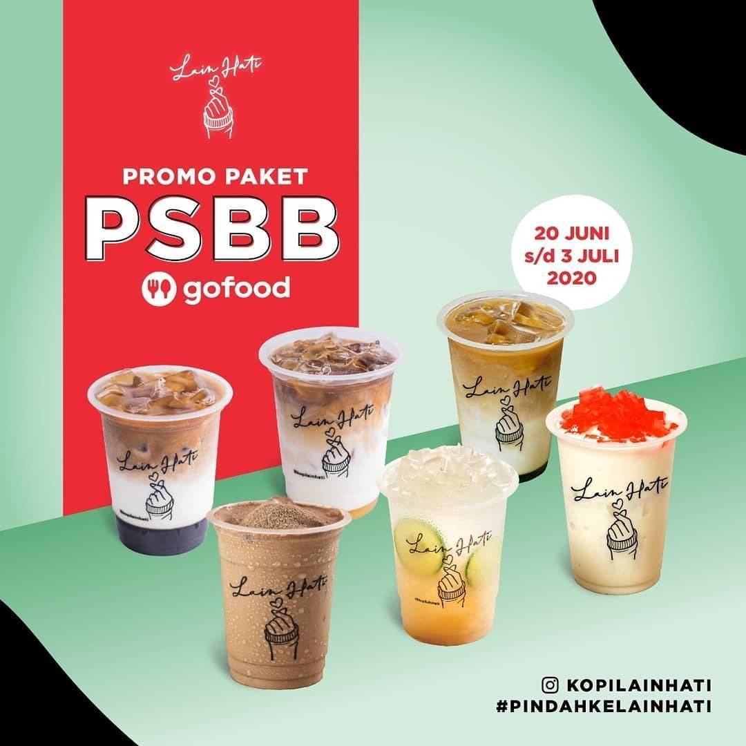 Diskon Promo Kopi Lain Hati Paket PSBB GoFood