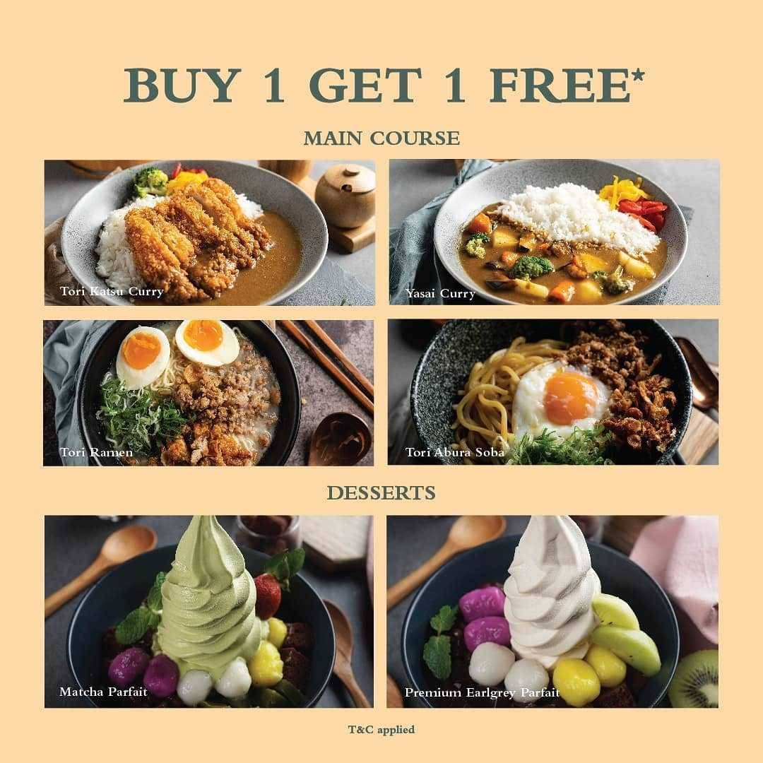Promo diskon Promo Shirokuma Buy 1 Get 1 Free For Selected Menu