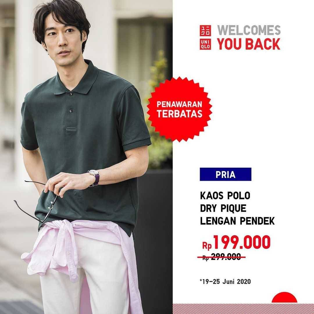Promo diskon Promo Uniqlo Special Offer Harga Spesial Pakaian Pria, Wanita, Anak Mulai Dari Rp. 129.000
