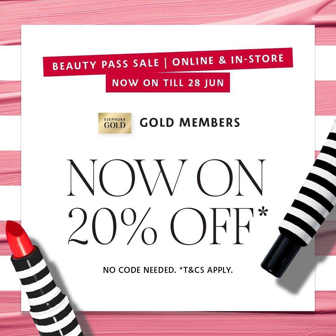 Diskon Promo Sephora Discount 20% Off