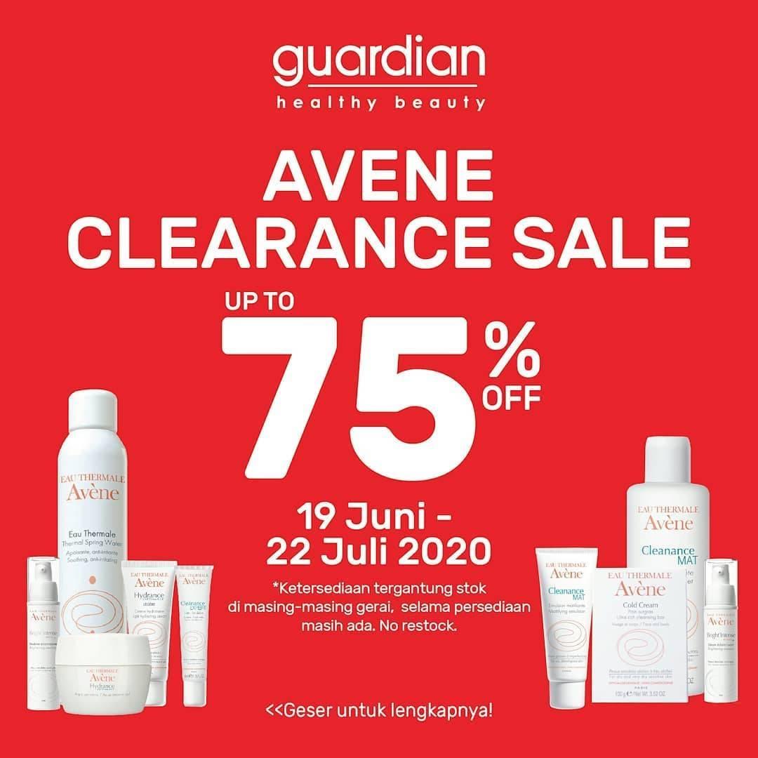 Diskon Promo Guardian Avene Clearence Sale Up To 75% Off