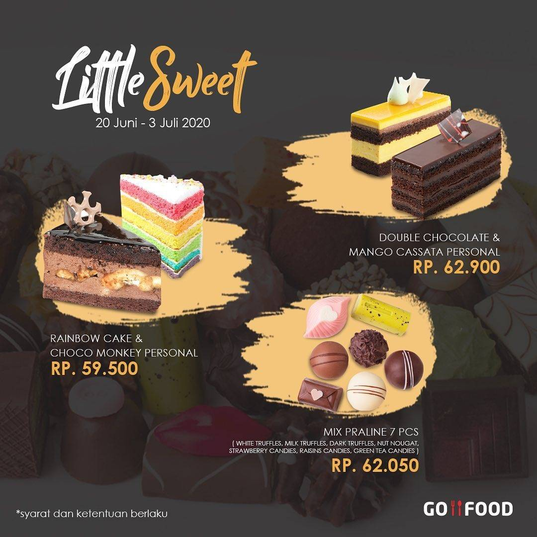 Diskon Promo Dapur Cokelat Paket Little Sweet Dengan Harga Mulai Dari Rp. 59.500
