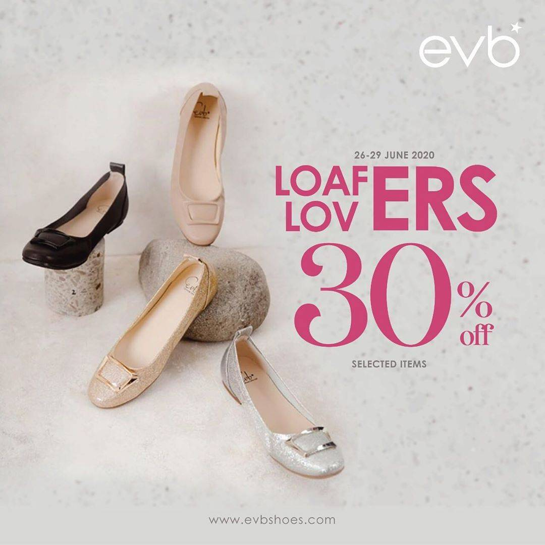 Diskon Promo evb Loafers Lovers Discount 30% Off For Selected Items