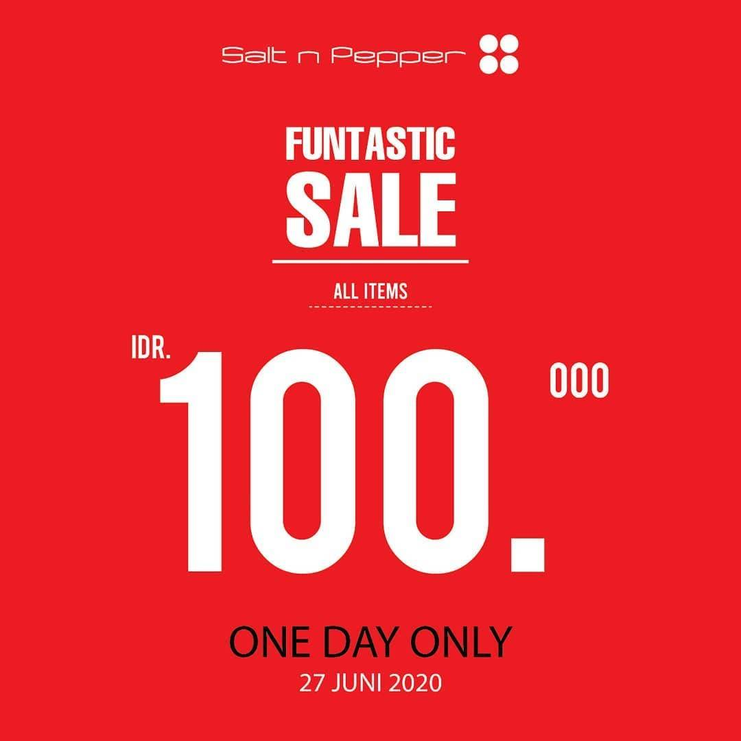 Diskon Promo Salt & Pepper Funtastic Sale All Items Only For Rp. 100.000