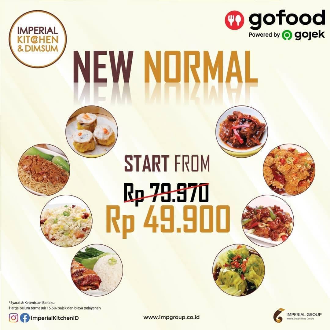 Diskon Promo Imperial Kitchen Paket New Normal Untuk Pemesanan Melalui GoFood