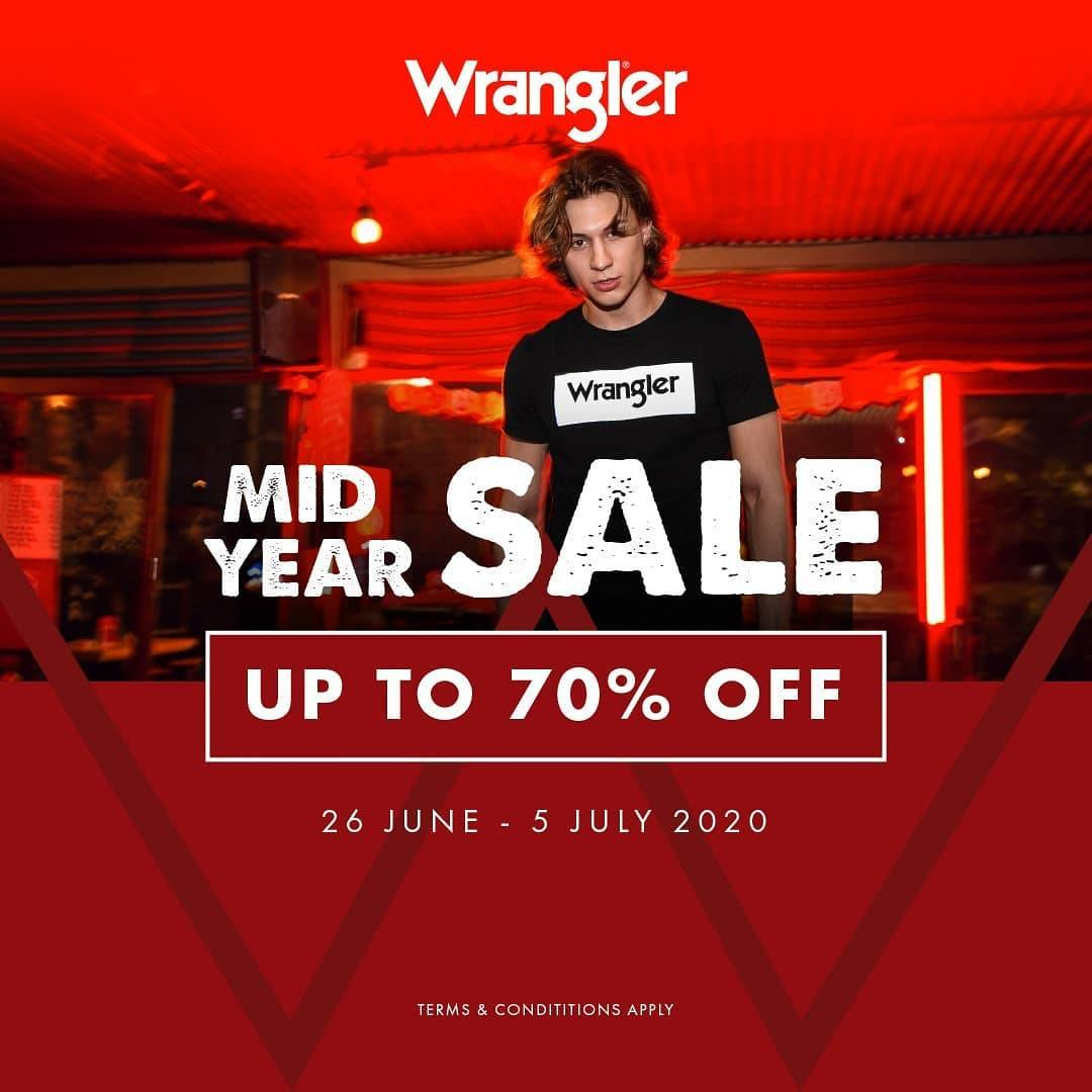 Diskon Promo Wrangler Discount Up To 70% Off For Selected Items