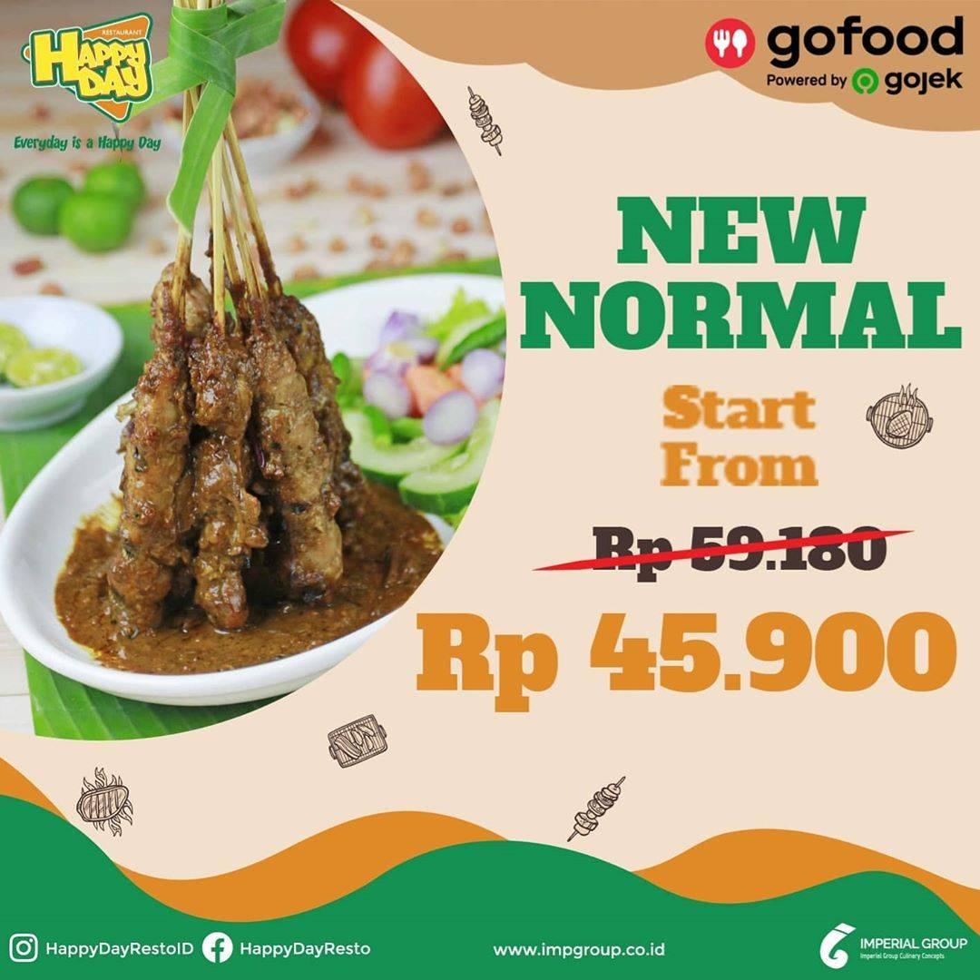 Diskon Promo Happy Day Paket New Normal Untuk Pemesanan Melalui GoFood