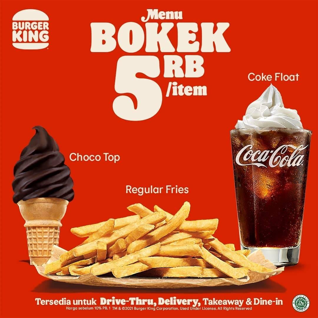 Diskon Burger King Promo Menu Bokek